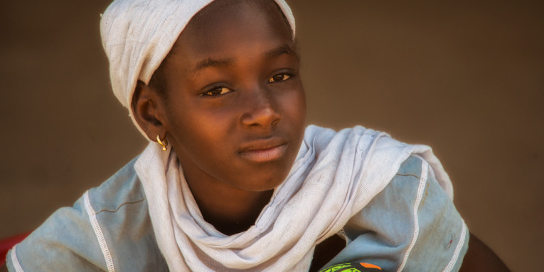 Young Gambian Woman (photo: Allan Hopkins)